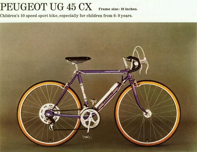 juvenile racing bike   2   peugeot  france