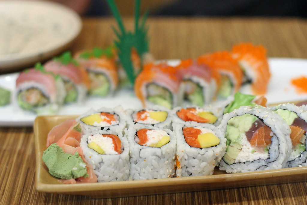 Sushi from nikkyu japanese restaurant on main street in for Adaro sushi pan asian cuisine