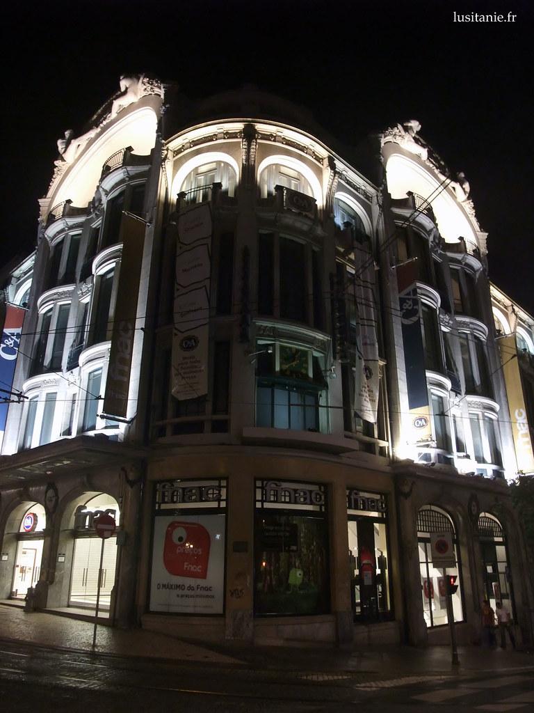 Fnac et C&A à Porto
