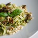 Tagliatelle with mushrooms & cashew pesto
