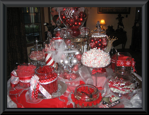Red And White Candy Buffet Flickr Photo Sharing