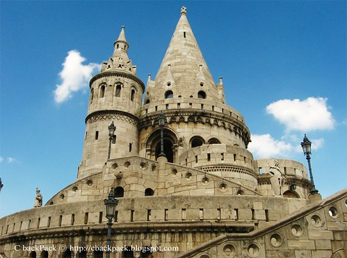 Hungary匈牙利首都budapest布達佩斯 城堡山 漁夫堡img 4582 By Ciaochanchou