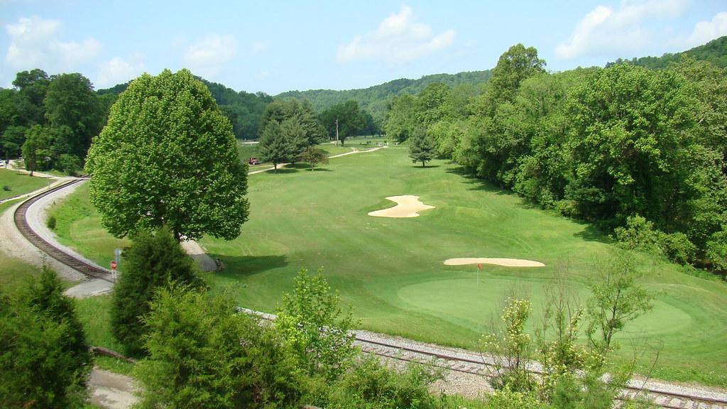 sugarwood golf club lavalette wv 7th hole short par