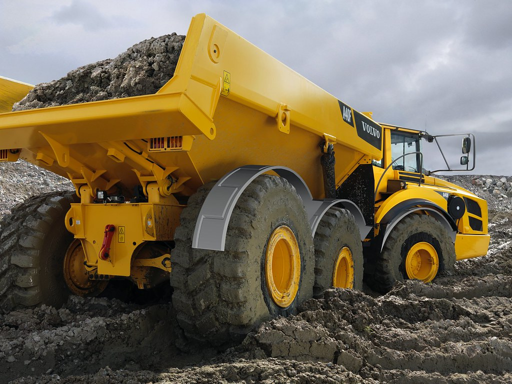 Volvo A40F Articulated Truck | Visit the Volvo ...