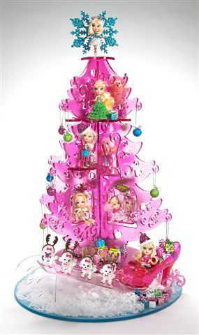 Pink Mini Christmas Tree