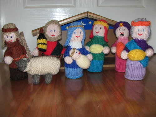 Knitting Patterns For Nativity Figures : IMG_2974_3 cherry.red8 Flickr