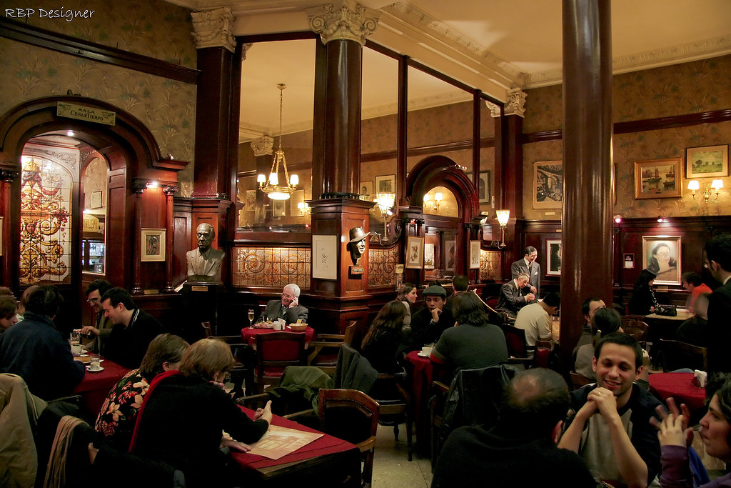 Buenos Aires Cafe Caf Tortoni Buenos Aires