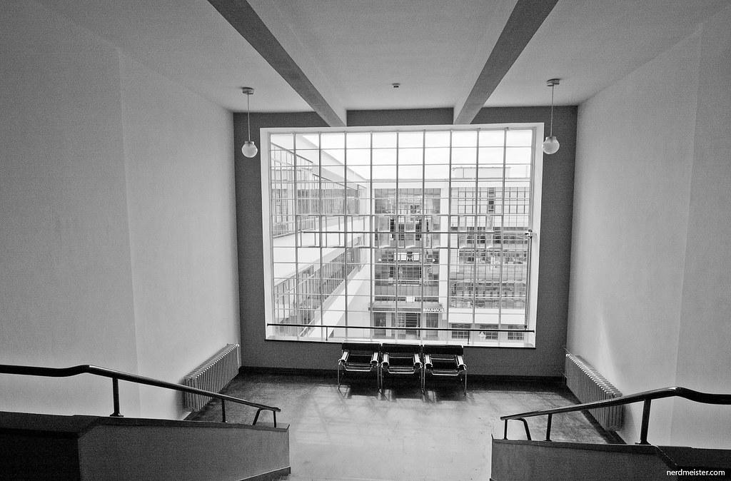 Bauhaus dessau interior nerdmeister flickr - Bauhaus iluminacion interior ...
