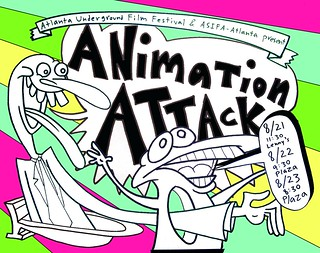 Animation Attack! 2008 flyer | by brett_w_thompson