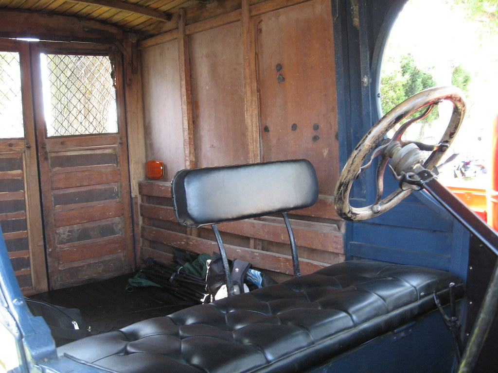 Ford Model T Mail Truck Interior Hot Antioch Nights At