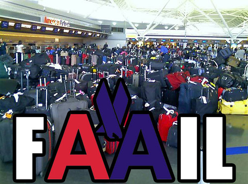 American Airlines JFK Baggage System Fails | by NYCAviation