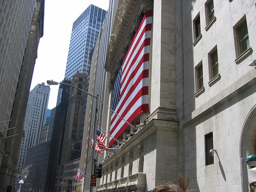Wall Street flag | by Azureon2