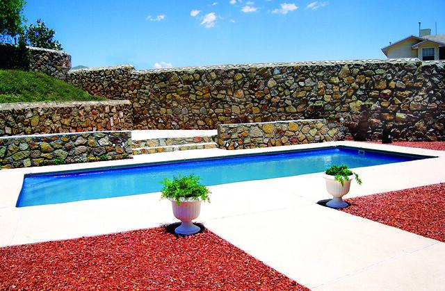 St thomas 4a viking pools rectangle design advanced for Pool design el paso tx