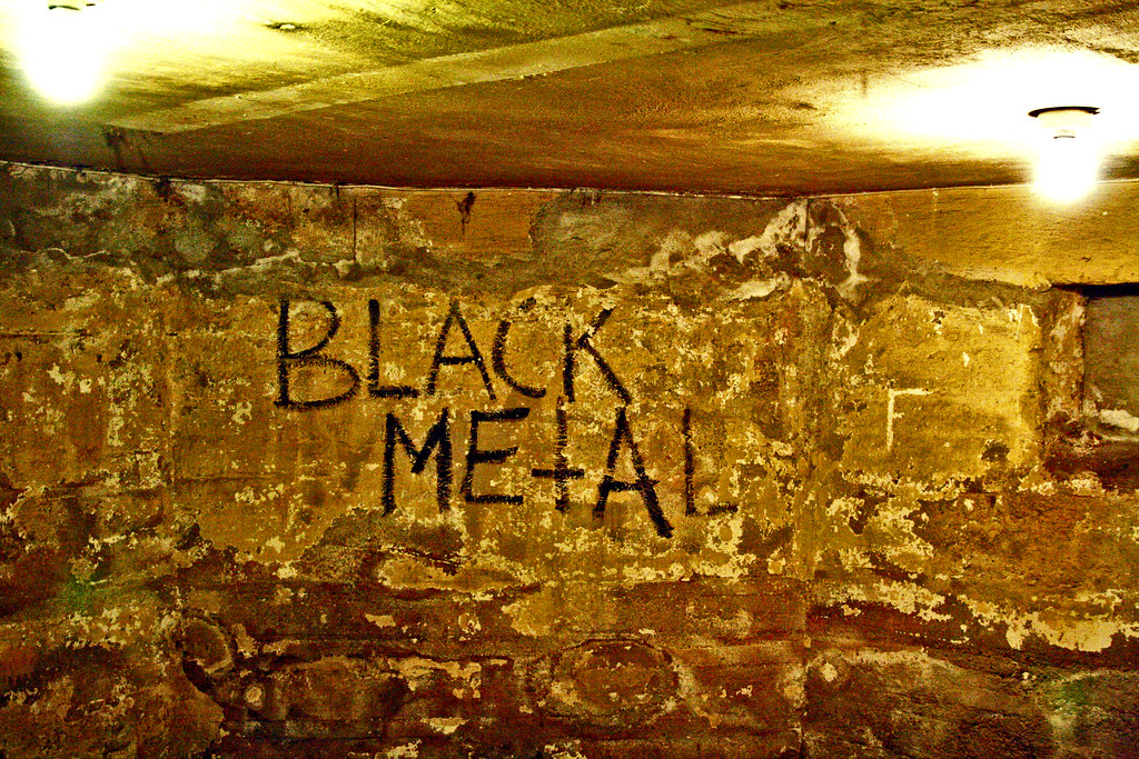 Black Metal | This is the famous graffiti made by Euronymous… | Flickr
