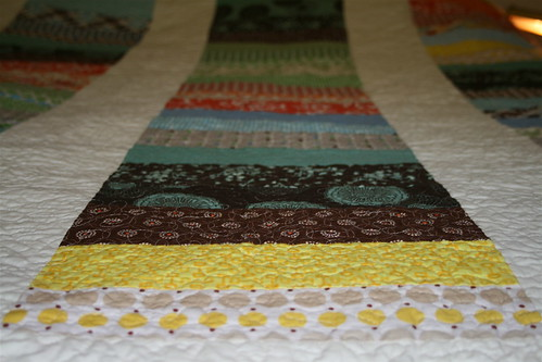 Stacked Coin Quilt - Detail | by alissahcarlton
