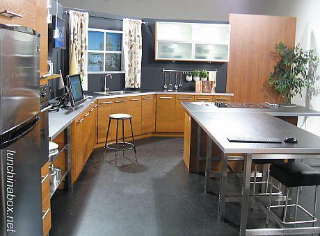 Tv studio kitchen set of fox40 live in sacramento lunch for Zaffron kitchen set lunch