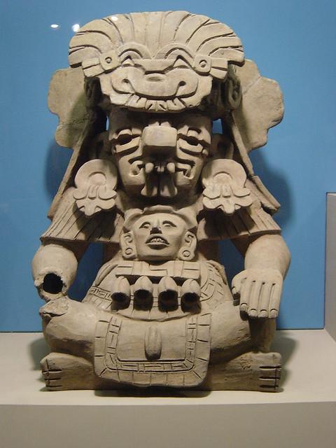 Mayan/Aztec Statue   Neil R   Flickr