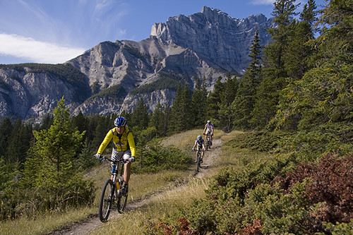 Mountain Biking Banff National Park and the Town of Banff ...