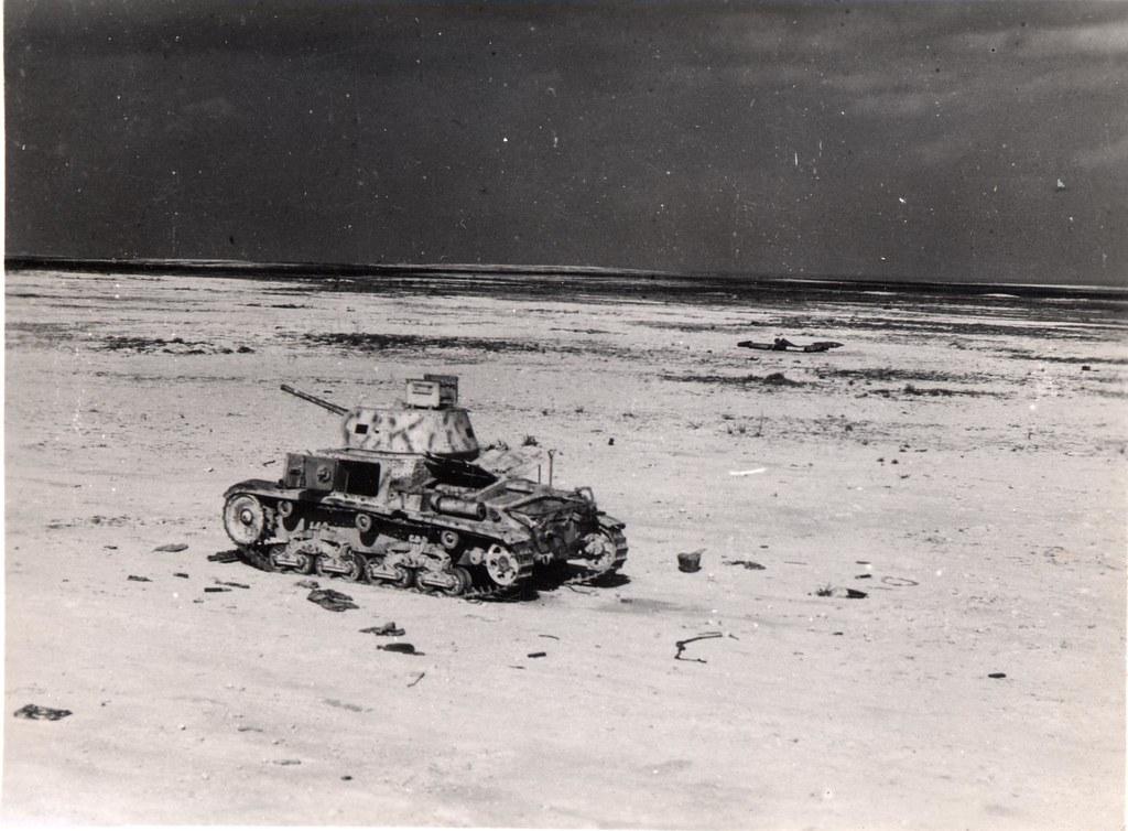The Medium Is Message >> Destroyed Italian M13-40 Medium Tank | chris#edwards | Flickr