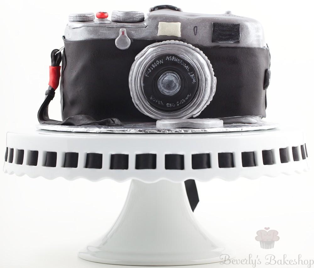 Happy Birthday Cake Camera