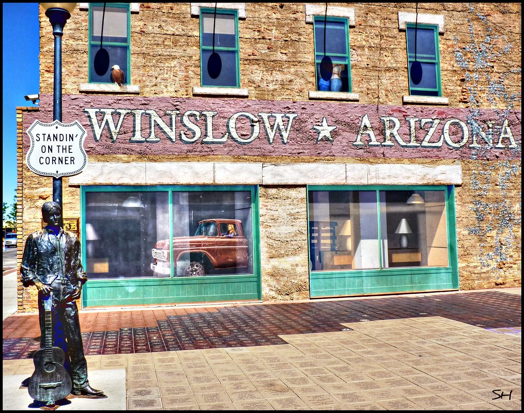 Standin On The Corner In Winslow Arizona The Second