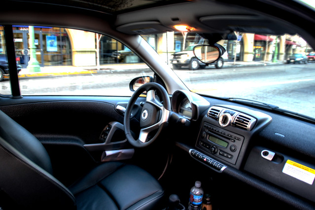 2008 smart car fortwo passion coupe interior leather inter flickr. Black Bedroom Furniture Sets. Home Design Ideas