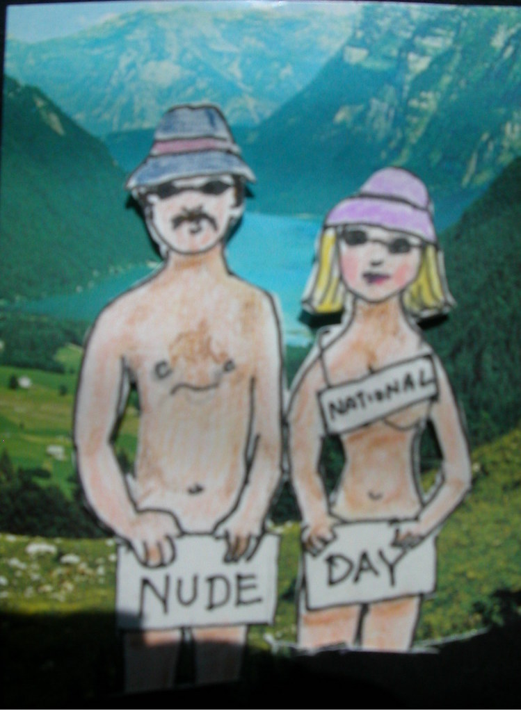 National Nude Day  For Bizarre July Holiday Swap -6436