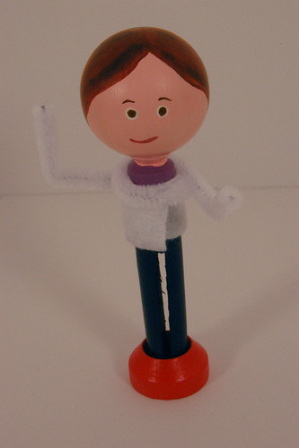 Mini Me Clothes Pin Doll | by CraftNClutter