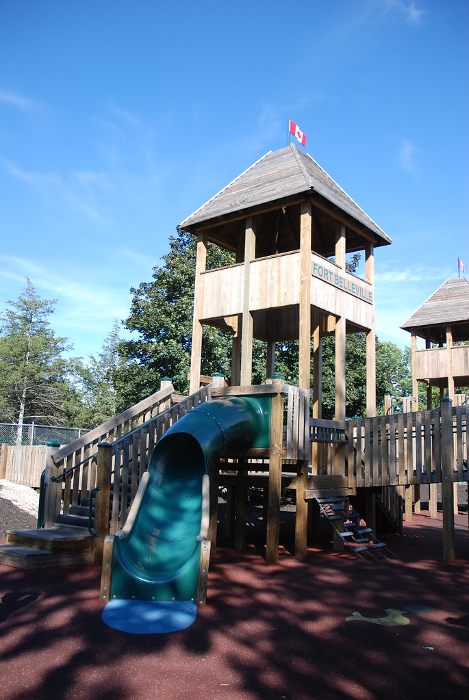 Young Contractors Group Updates Playground for Kids in
