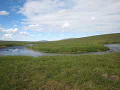The Kuparuk River, north of the Arctic Circle | by WNPR - Connecticut Public Radio