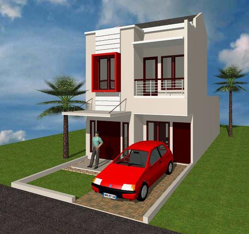rumah asri sebuah rumah asri mungil bergaya minimalis