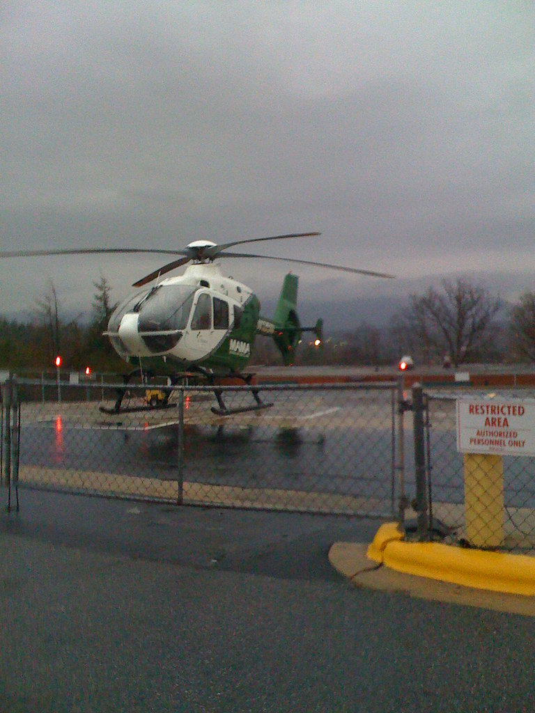 Helicopter | Helipad at Mission Hospital in Asheville, NC ...