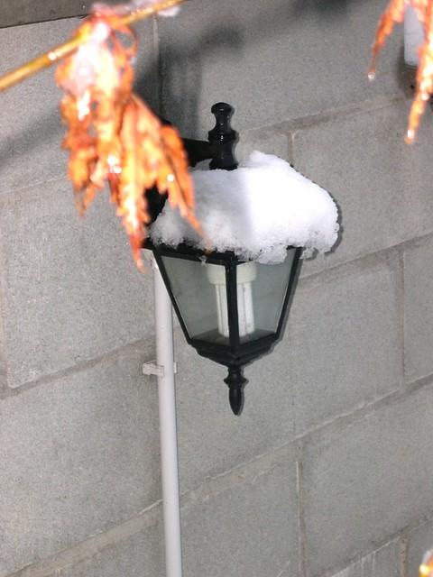 snow lantern flickr photo sharing