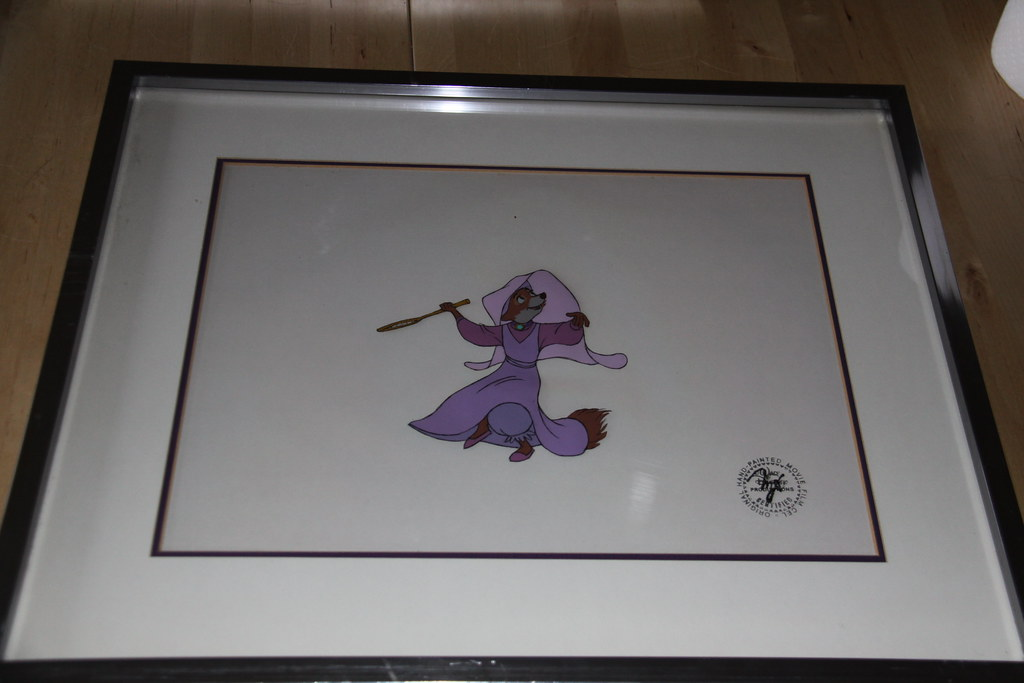 How To Frame An Animation Cel Church Hill Classics