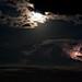 night moon with lightning