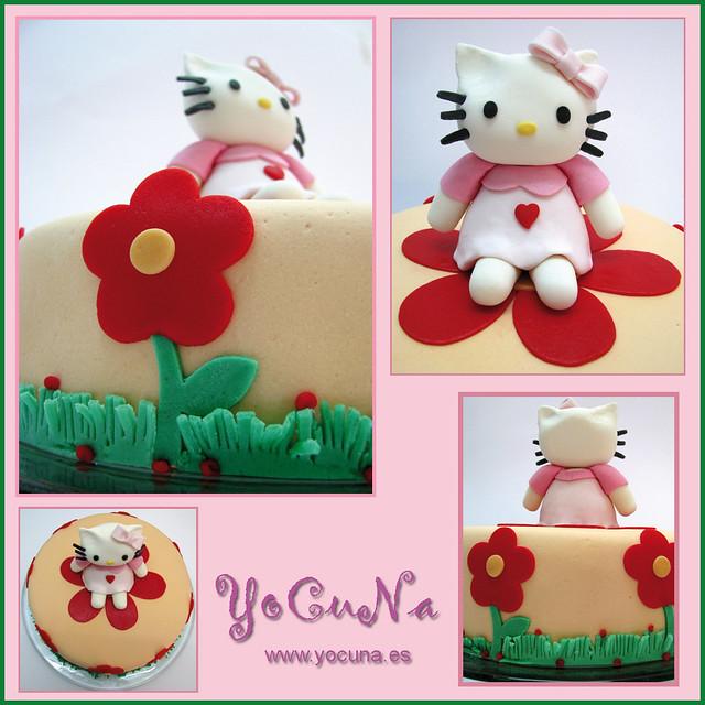 Hello Kitty Fondant Cake Images