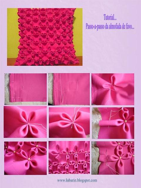 tutorial almofada de favinho muito f cil de fazer e o visu flickr. Black Bedroom Furniture Sets. Home Design Ideas