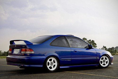Blue Paint For  Civic Si