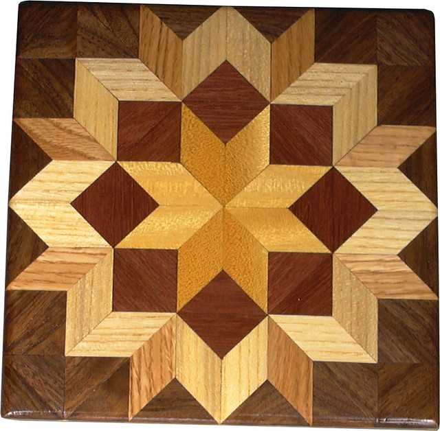 Bright Carpenters Wheel Quilt Block This Is A