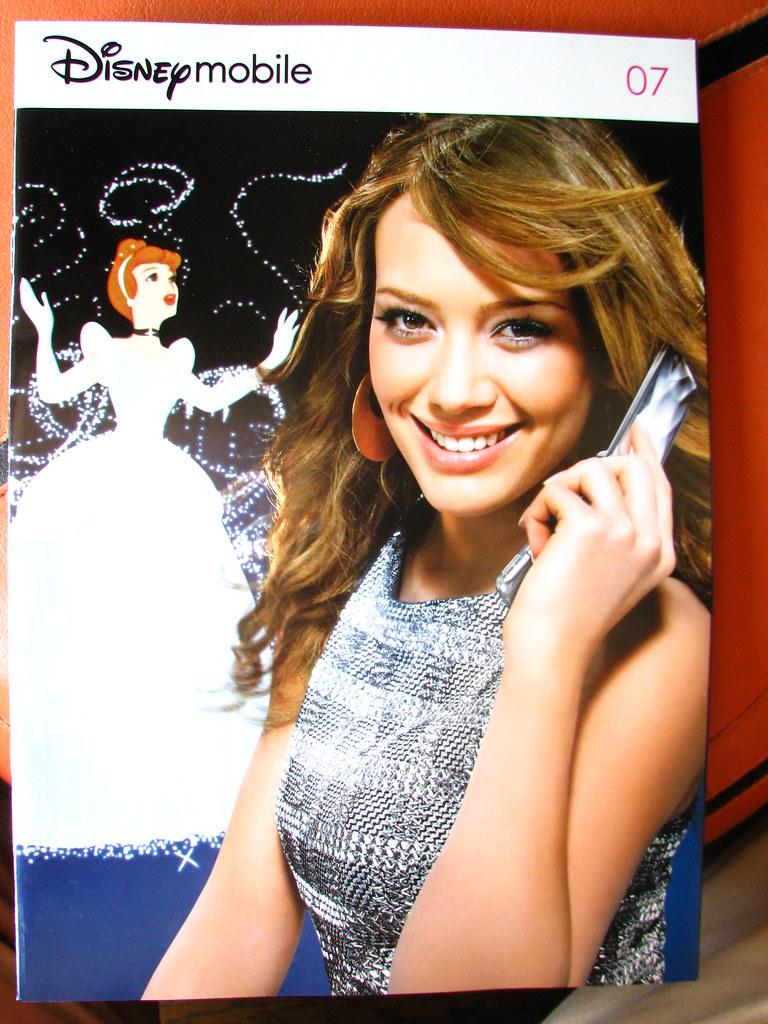 Hilary Duff for Disney Mobile (Softbank) | Here, Hilary ... Hilary Duff