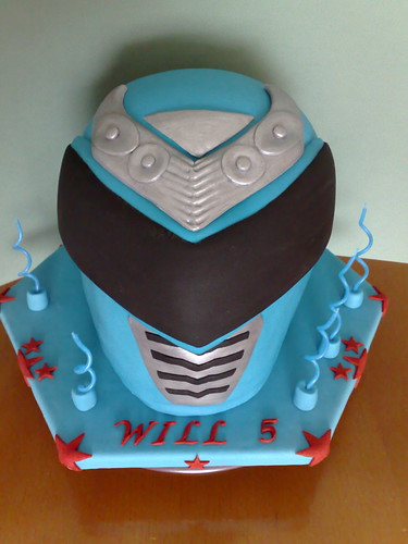 Power Ranger Birthday Cake Pan