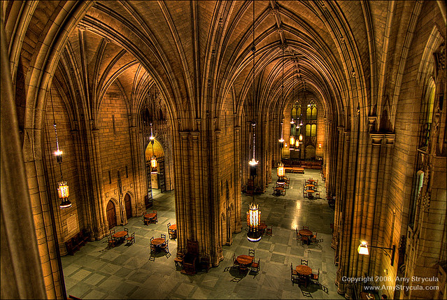 Oakland University Campus Map >> HDR - Commons Room Cathedral of Learning - University of P… | Flickr