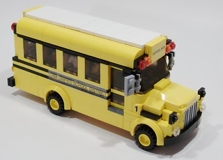 Wheeled School Bus - Right Front | by Bill Ward's Brickpile