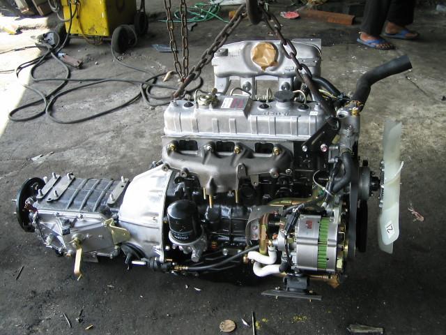 sarao motors and new isuzu engine 4JB 1 model