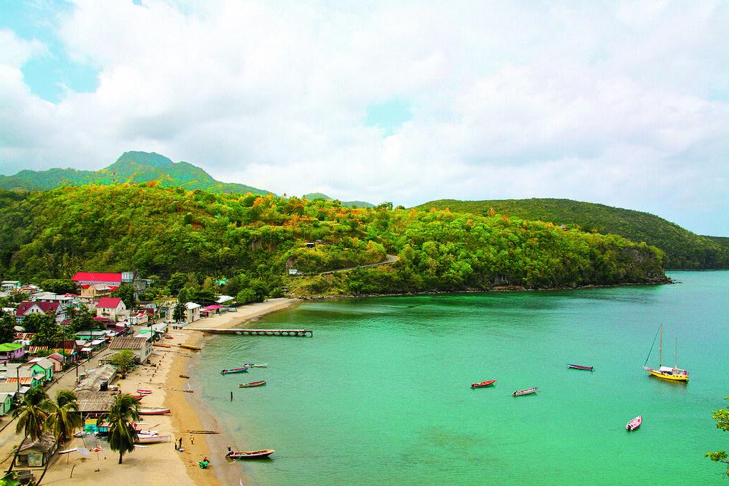Village of Anse La Raye - St. Lucia | Anse La Raye is a ...