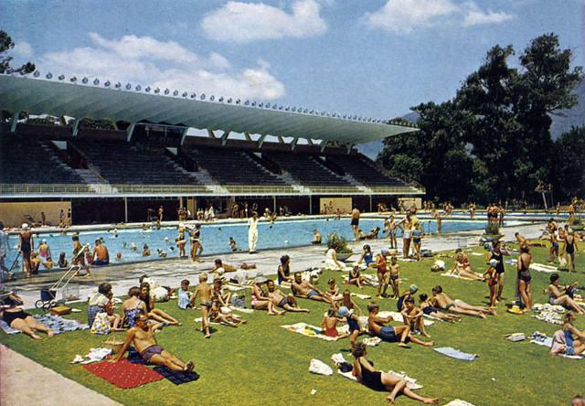 Newlands Swimming Pool 1964 Etienne Du Plessis Flickr