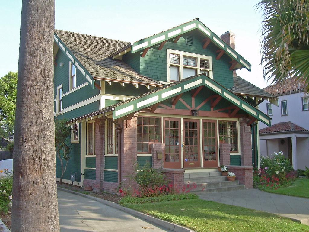 Craftsman House San Jose California Retouched David
