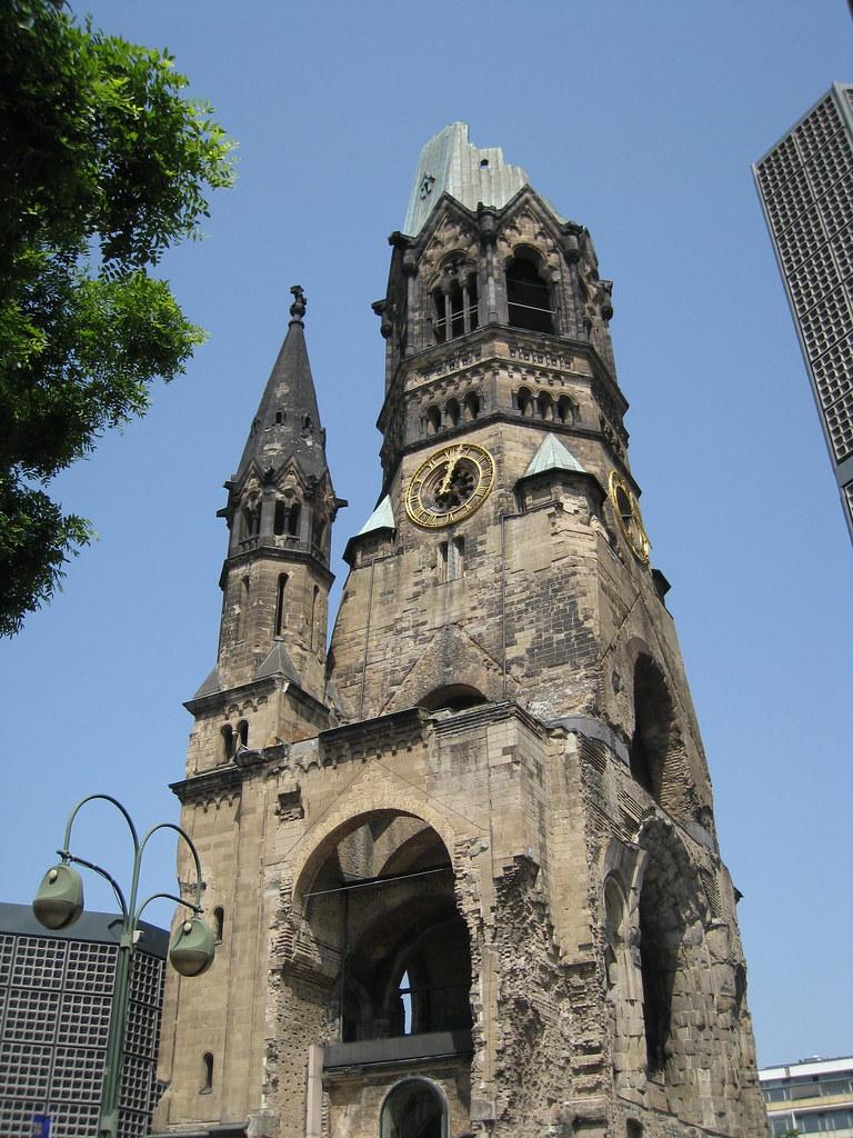 Kaiser Wilhelm Memorial Church | Ruinene av Kaiser-Wilhelm ...
