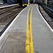 Keep back from platform edge