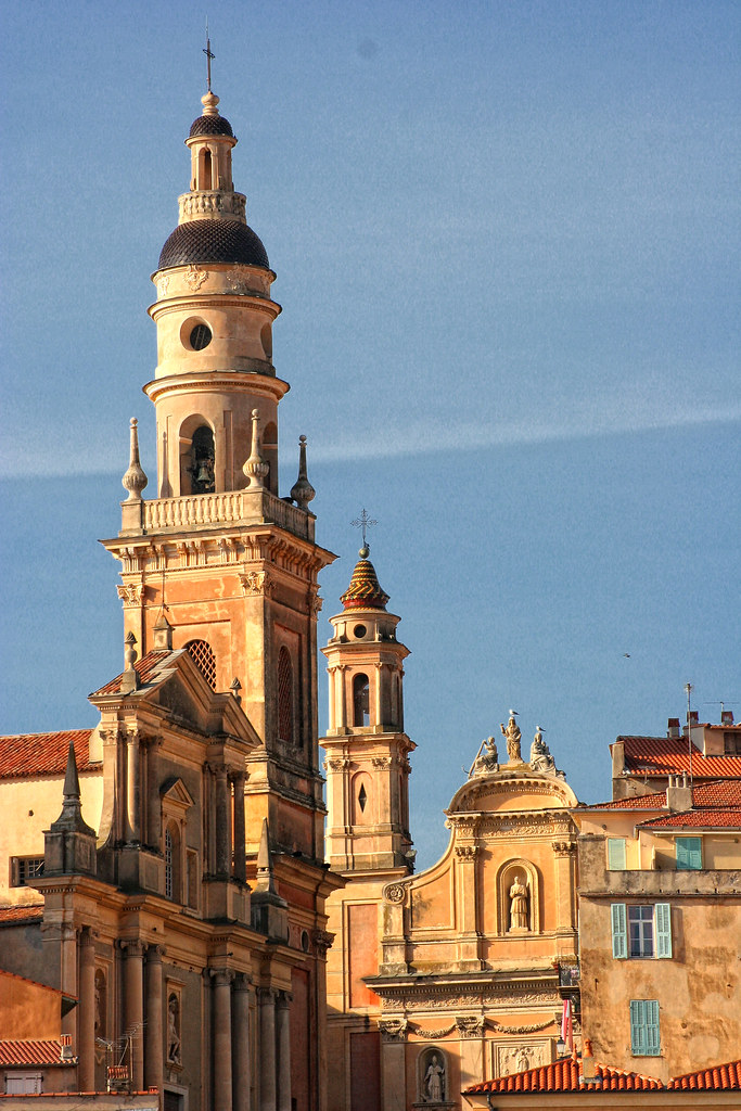 Menton la basilique saint michel archange d couvrez mento flickr - Office tourisme de menton ...